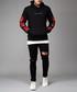 Rosa black cotton rose sleeve hoodie Sale - criminal damage Sale