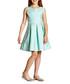 Girl's Glitter Pansy mint sleeveless dress Sale - yumi girls Sale