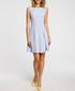 Light blue sleeveless mini dress Sale - made of emotion Sale