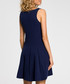 Navy sleeveless mini dress Sale - made of emotion Sale