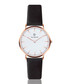 Black & white leather watch  Sale - Paul McNeal Sale