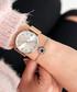 Rose gold-tone mesh strap watch  Sale - Paul McNeal Sale