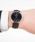 Dark brown & black leather watch  Sale - Paul McNeal Sale
