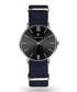 Black & silver-tone nylon watch Sale - paul mcneal Sale