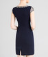 Black print short sleeve mini dress Sale - lanelle Sale