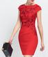Red short sleeve mini dress Sale - lanelle Sale