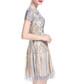 Apricot embroidered mini dress Sale - lanelle Sale