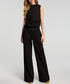 Black sleeveless wide-leg jumpsuit Sale - made of emotion Sale