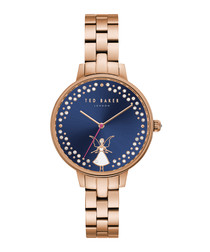 Kate gold-tone stainless steel watch