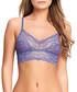 Lace Kiss purple lace bralette Sale - B.tempt'd Sale