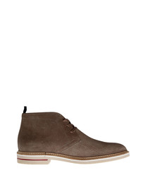 Water St. taupe leather desert boots