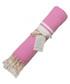 St Tropez pink cotton fouta towel Sale - FEBRONIE Sale