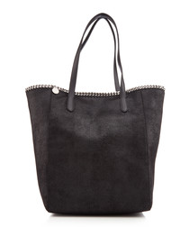 Hamilton Traveler black leather bag