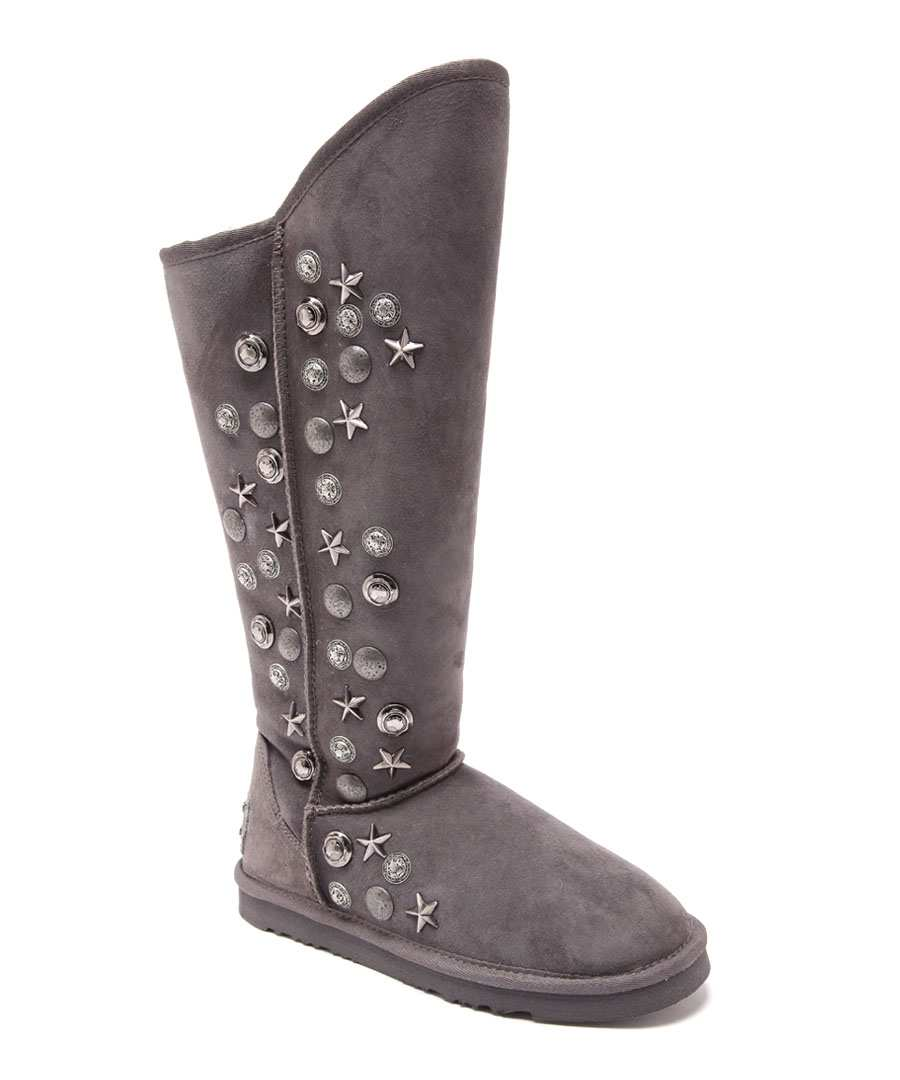Angel Tal charcoal suede boots Sale - Australia Luxe