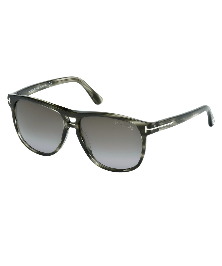 387c6d1e595 ... Lennon grey Havana frame sunglasses Sale - Tom Ford Sale