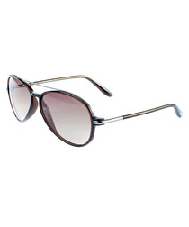 Ramone graduated brown lens sunglasses