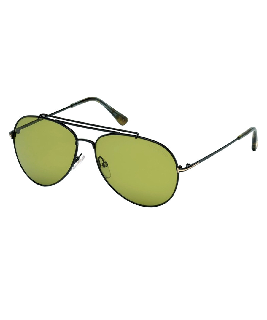 Indiana green lens sunglasses Sale - tom ford