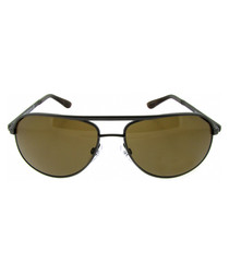 Mathias graduated brown lens sunglasses