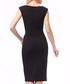 Black & mint sleeveless pencil dress Sale - Lila Kass Sale
