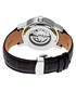Romulus black & silver leather watch Sale - heritor automatic Sale