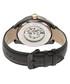 Desmond black & gold-tone leather watch Sale - heritor automatic Sale