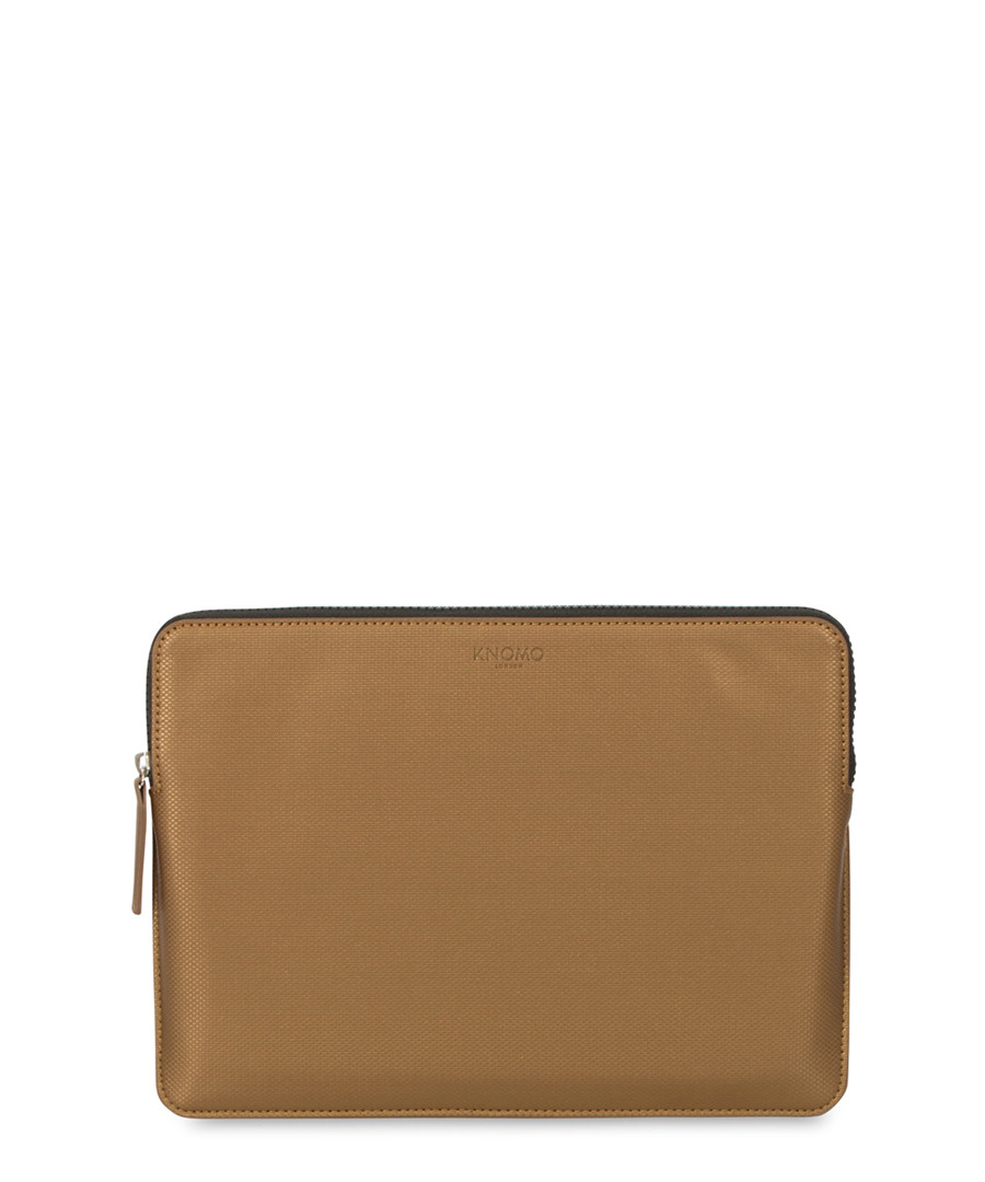 "Bronze-tone laptop case 15"" Sale - knomo"