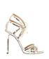 Gold-tone leather strappy heels Sale - marc ellis Sale