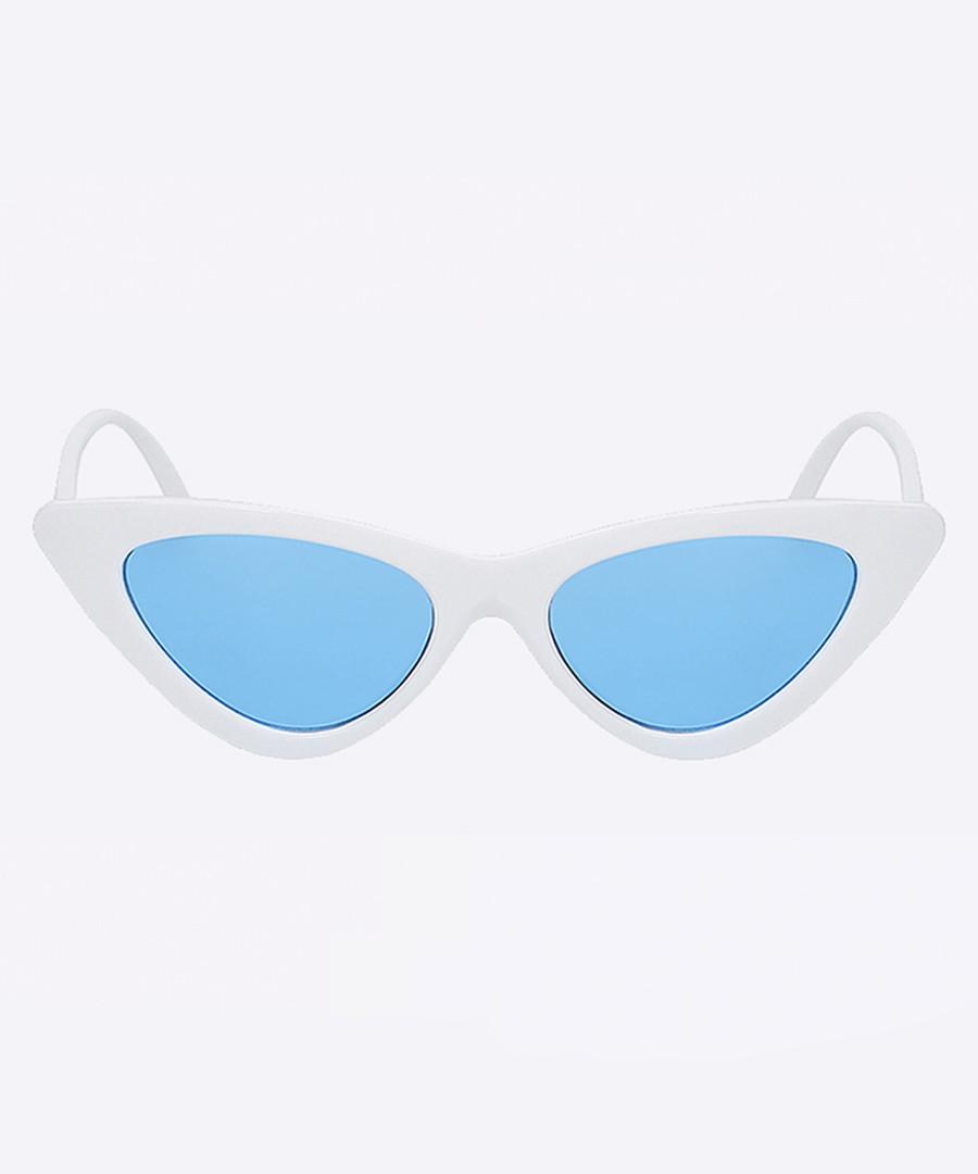 Lens Blue SunglassesSecretsales Discount Whiteamp; Sister txrQshdCoB