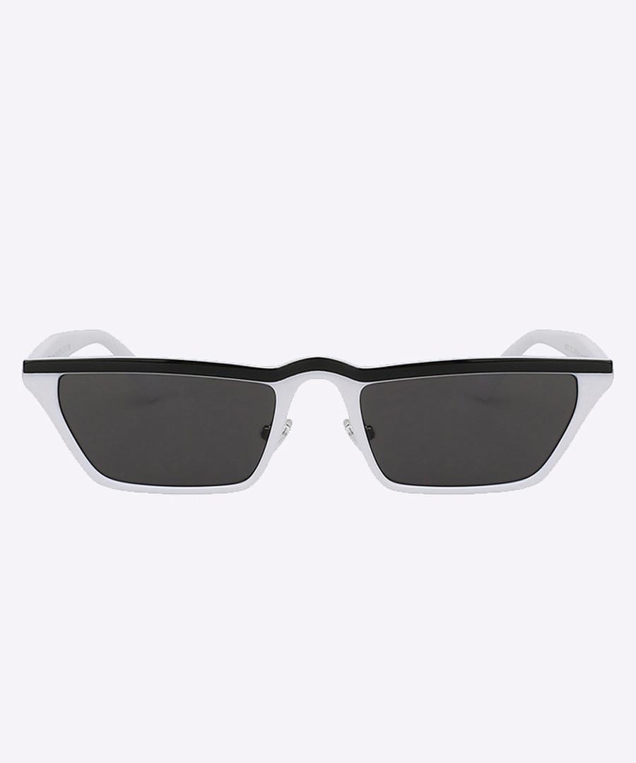 SunglassesSecretsales Black Discount Flat Top Line Whiteamp; N0w8vmnOy