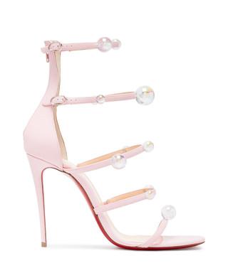 85581c645581 Atonana light pink leather cage heels Sale - Christian Louboutin Sale