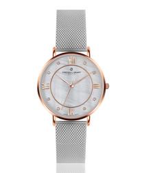 Liskamm rose gold-tone mesh watch
