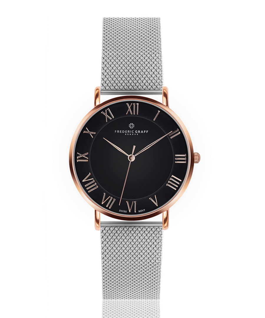 Dom rose gold-tone mesh watch Sale - frederic graff