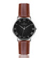 Dom cognac leather watch Sale - frederic graff Sale
