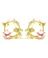 Gingko Dance 14ct gold-plated studs Sale - fleur envy Sale