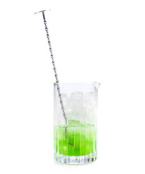 Timeless Crystal cocktail mixing glass