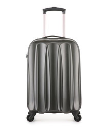 Tiber charcoal spinner suitcase 56cm