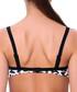 Esmeralda white print bikini top Sale - fleur farfala Sale