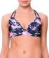 Estela black floral lined bikini top Sale - fleur farfala Sale
