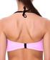Fernanda pink underwired bikini top Sale - fleur farfala Sale