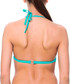 Maribel turquoise triangle bikini top Sale - fleur farfala Sale