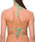Milagros green triangle bikini top Sale - fleur farfala Sale