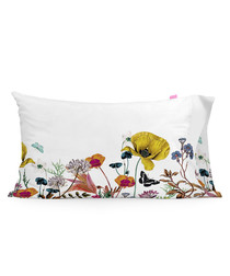 2pc Birds Of Paradise white pillowcases