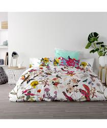 Birds of Paradise king duvet cover