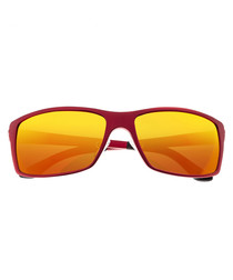 Kaskade red & yellow lens sunglasses