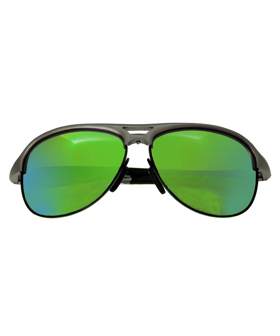Jupiter blue & green lens sunglasses Sale - breed