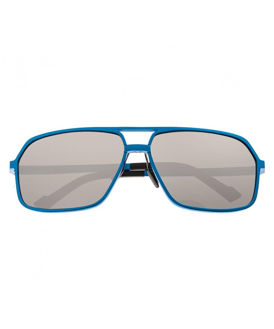 Fornax blue & silver-tone sunglasses Sale - breed
