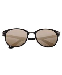 Cetus black & gold-tone sunglasses