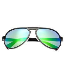 Octans green & blue lens sunglasses