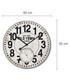 Black & white wall clock Sale - Walplus Sale