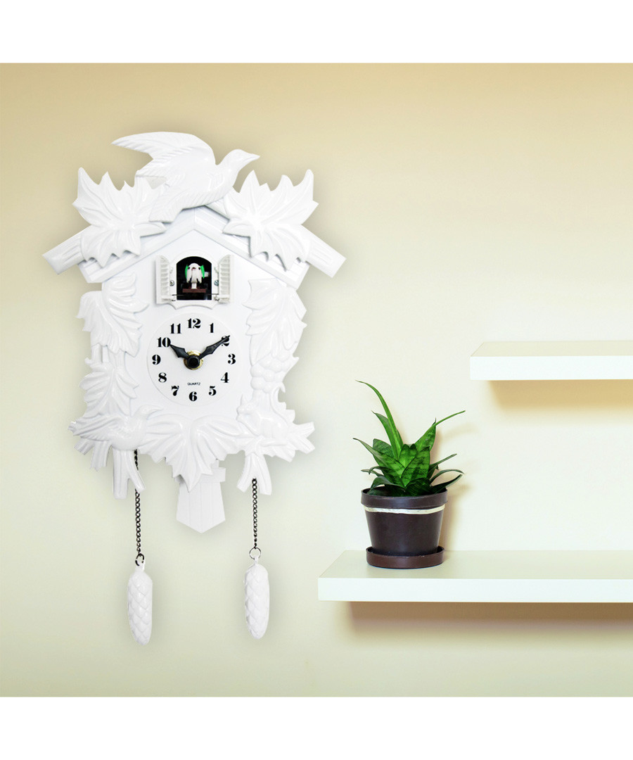 White cuckoo clock Sale - Walplus